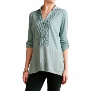 Anthro | Meadow Rue | Reha Henley Sage